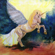 Alicorn. Sam James Fine Art