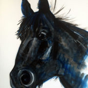 Cracker- Private Commission. 50x60cm. Sam James Fine Art