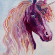 Pink Unicorn. Sam James Fine Art