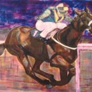 Racehorse. Sam James Fine Art