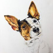 Betty Bo 25x30 – TO BE FINISHED - Sam James Fine Art