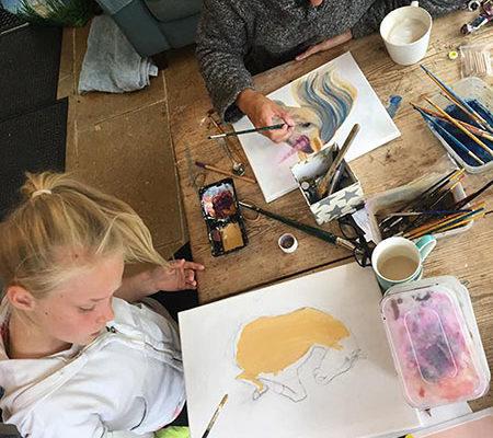 Art Classes with Sam James - Cheltenham-Cotswalds